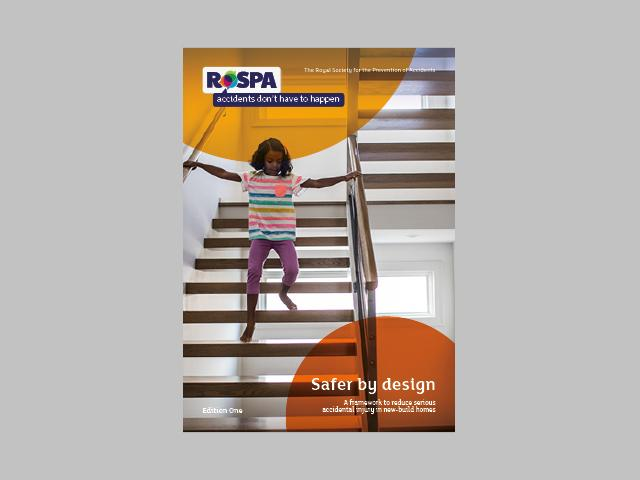 Front cover of RoSPA's Safer by Design framework