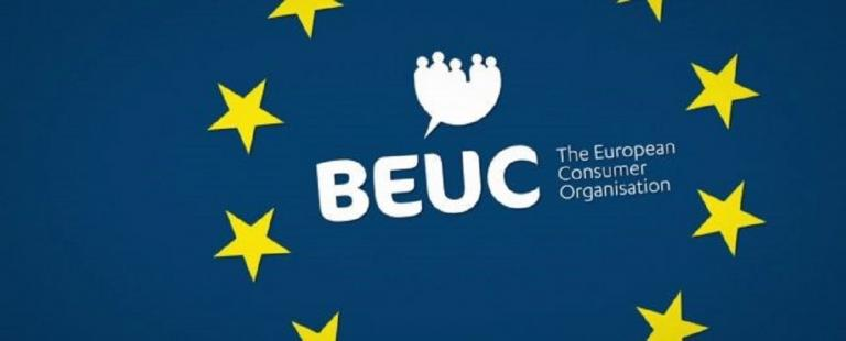 BEUC - the European consumer organisation - logo