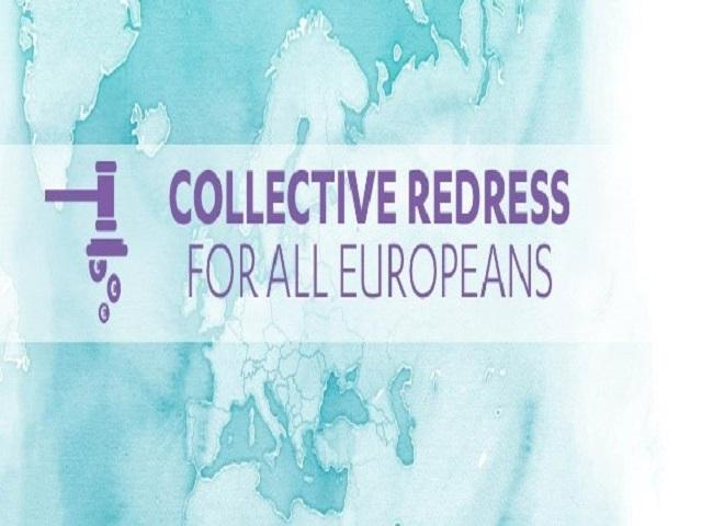 Logo for EU Directive - Collective Redress for all Europeans